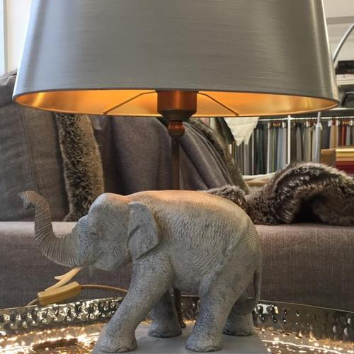 Lampe mit Elephant